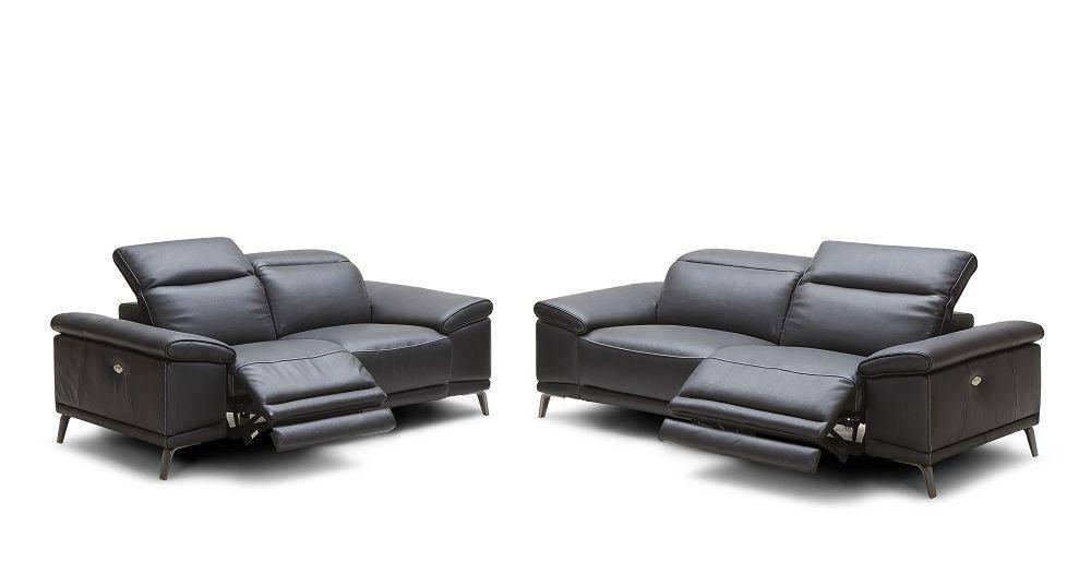 Black Recliner Set Off 56, Modern Recliner Sofa Leather