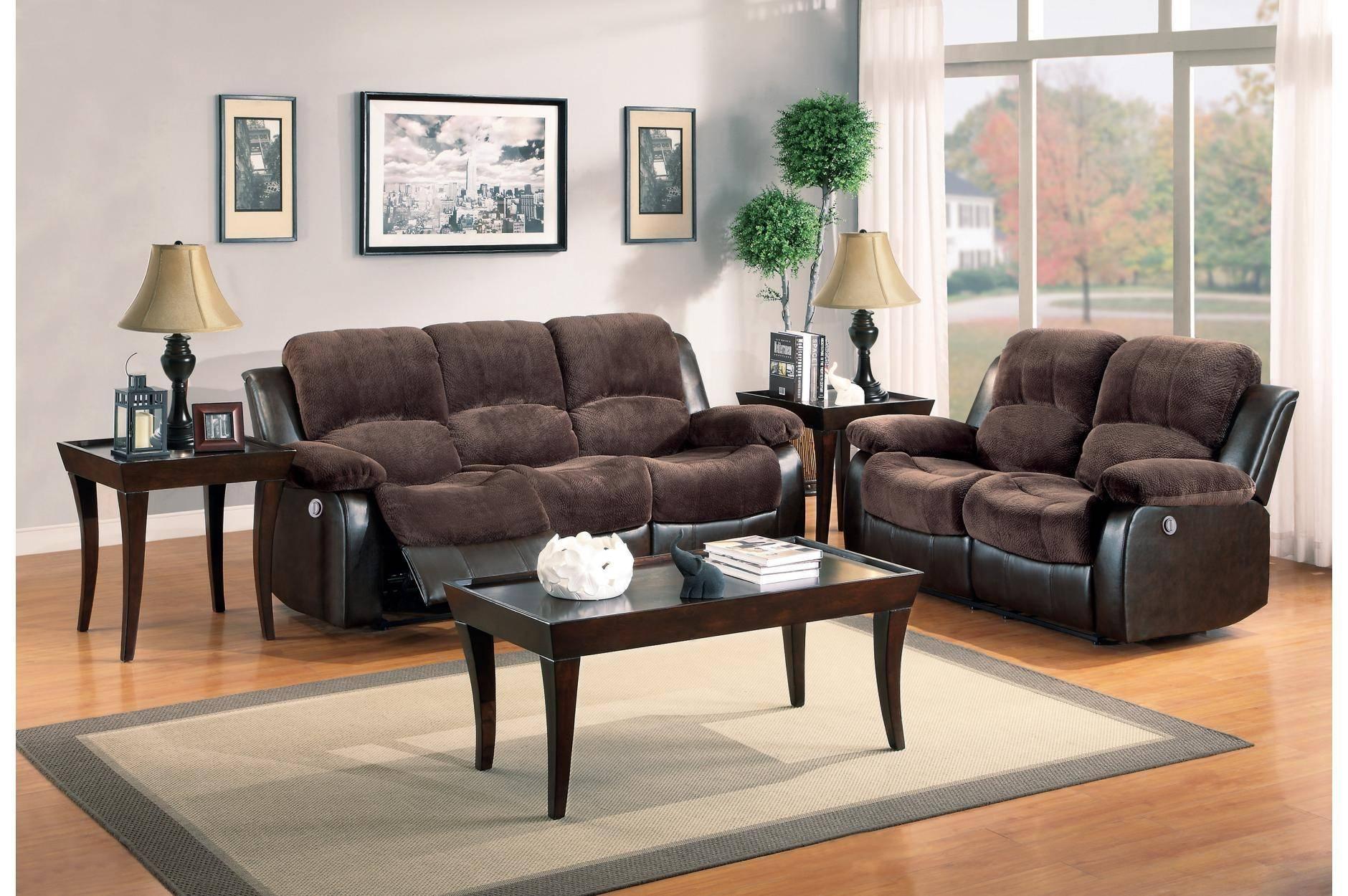 Astounding Homelegance Granley Recliner Sofa Set 2 Pcs In Chocolate Microfiber Gamerscity Chair Design For Home Gamerscityorg