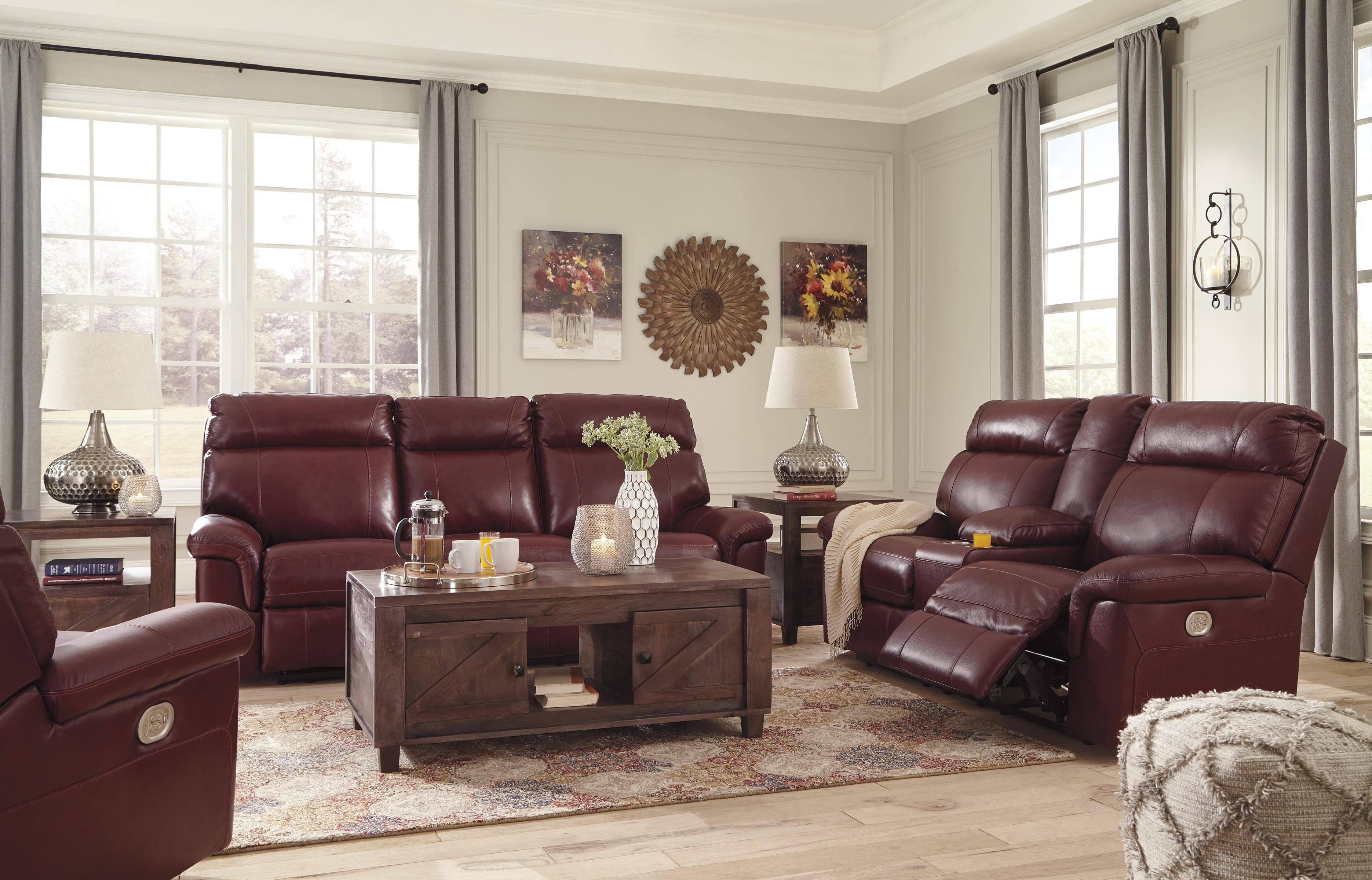 Buy Ashley Duvic Reclining Living Room Set 3 Pcs in ...