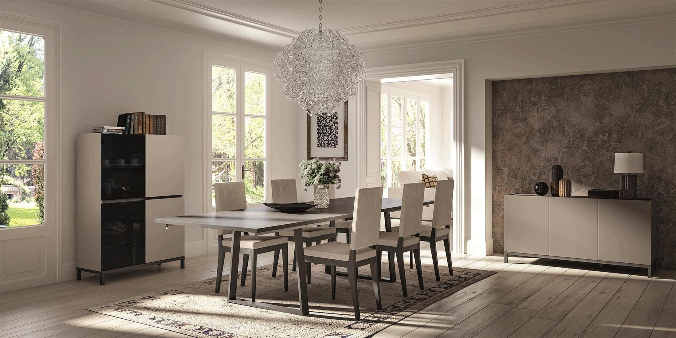 Esf Kali Dining Sets 8 Pcs In, Modern Formal Dining Room Sets For 8