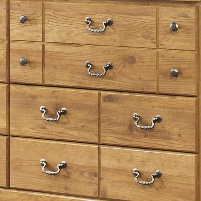 Buy Ashley Bittersweet Queen Poster Bedroom Set 6 Pcs In Light Brown Wood Online