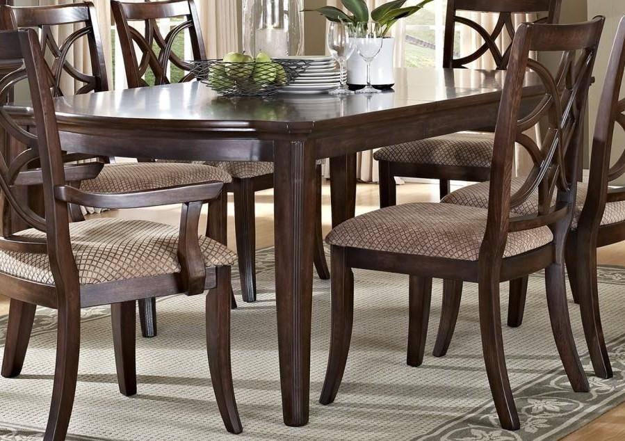 Buy MYCO Carly Dining Table Set 5 Pcs in Beige, Brown, Dark Brown