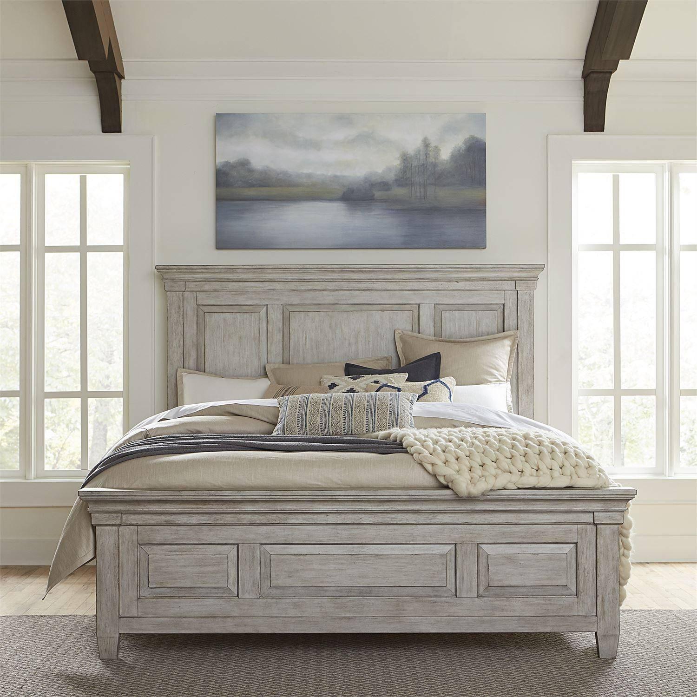 Buy Liberty Furniture Heartland 824 Br Panel Bedroom Set California King Panel Bedroom Set 4 Pcs In White Wood Online