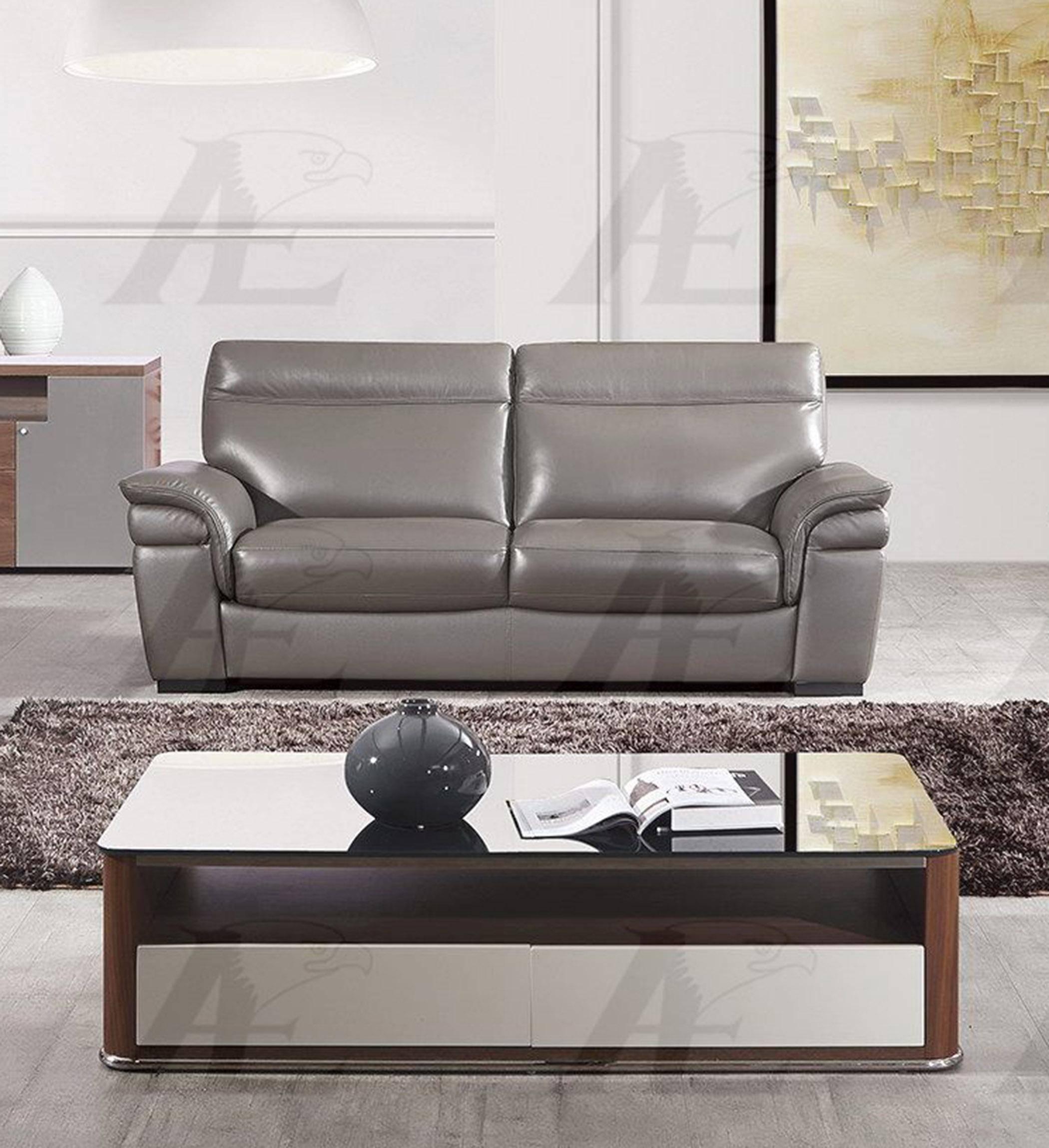 Super American Eagle Ek020 Tpe Sofa In Taupe Italian Leather Inzonedesignstudio Interior Chair Design Inzonedesignstudiocom